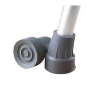 """Super Rubber Crutch Tip, 7/8"""" O.D Tube-Black, - Medline Industries Guardian"""