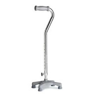 Select Quadlite Cane Adult Chrome Adjustable Height