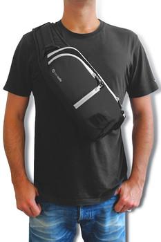 Pacsafe Venturesafe 150 Anti Theft Cross Body Pack (Black)