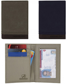 Anti Theft Courier Slim Wallet