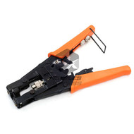 Modular Adjustable Crimping Tool For Coaxial Cable RCA F RG59 RG6 Cripmer Cutter