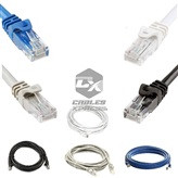 1.5FT CAT5e Modem Network Cable ( Black / Gray / Blue / White )