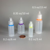 Mini Dropper Bottle Size Selection