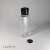 Oval-PET Bottle - 2 oz/60 ml
