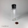 Oval-PET Bottle - 2 oz/60 ml