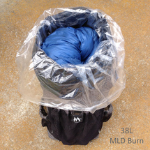 Nylofume Pack Liner Bag in a 38L MLD Burn