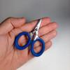 Cuda Mini Serrated Scissors