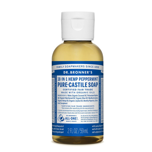 Dr. Bronner's Pure-Castile Soap - 2 fl oz (59 ml)