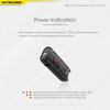Flashing power indicator