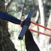 Adjustable Loop of Whoopie Sling rests on Marlin Spike Hitch, not Toggle
