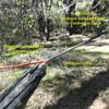 Ridgeline larkshead to Continuous Loop