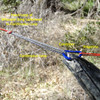 Hammock Ridgeline is removable using Micro Carabiner