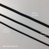 Three Sizes - Non-Reflective Shock Cord