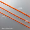 Three Sizes - Reflective Shock Cord