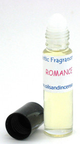 Romance type (W) 1/3 oz. roll-on bottle