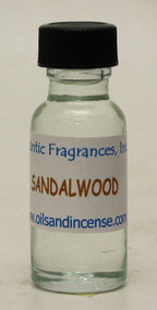 Sandalwood Fragrance Oil, 1/2 oz. bottle