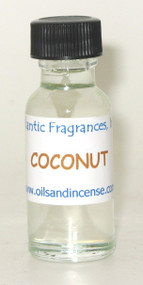 Coconut Fragrance Oil, 1/2 oz. size
