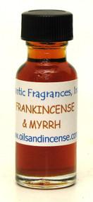 Frankincense & Myrrh Fragrance Oil, 1/2 oz. size