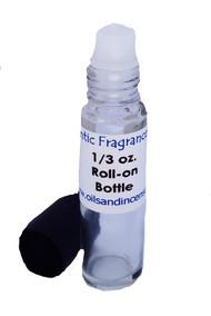 Jimmy Choo type (M) 1/3 oz. roll-on bottle