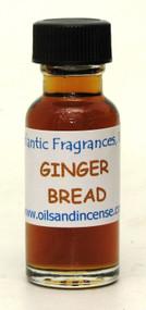 Gingerbread Fragrance Oil, 1/2 oz. bottle
