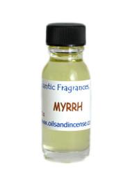 Myrrh Fragrance Oil, 1/2 oz. size
