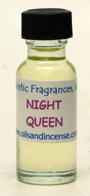 Night Queen Fragrance Oil, 1/2 oz. size