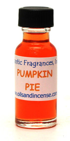 Pumpkin Pie Fragrance Oil, 1/2 oz. size