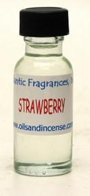 Strawberry Fragrance Oil, 1/2 oz. size