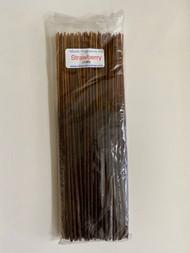 "Strawberry 11"" Incense Sticks, 100/pack"