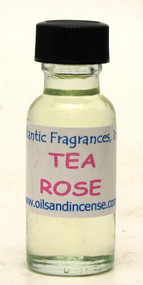 Tea Rose Fragrance Oil, 1/2 oz. size