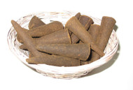Vanilla Large Incense Cones, 4/pack