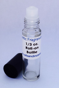 Love Don't Be Shy type (W) 1/3 oz. roll-on bottle