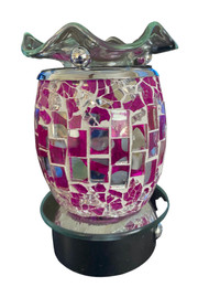 Mosaic Pink Tile Touch Night Light