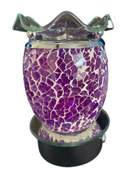Mosaic Purple with White Grout Touch Night Light