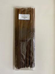 """Coconut 11"""" Incense Sticks, 100/pack"""