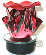 Wavy Splash Night Light - Red