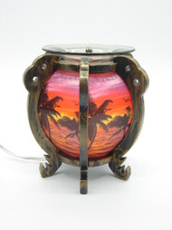 Palm Tree Electric Oil Burner