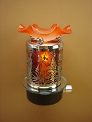 Hibiscus Flower Night Light - Orange