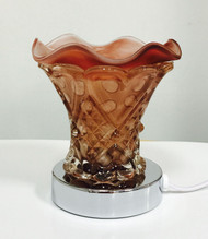 Touch Brown Glass Oil Burner