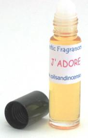 J'adore type (W) 1/3 oz. roll-on bottle