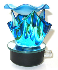 Wavy Splash Night Light - Blue