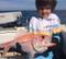 Kids long Sleeved Sun Safe UPF fishing shirt hoodie
