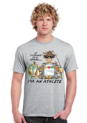 Fishing Athlete