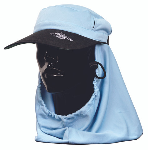 Sun Safe full protection UV hat - Blue Flint Colour