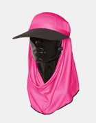 Sun Safe full protection UV hat - Hot Pink Colour