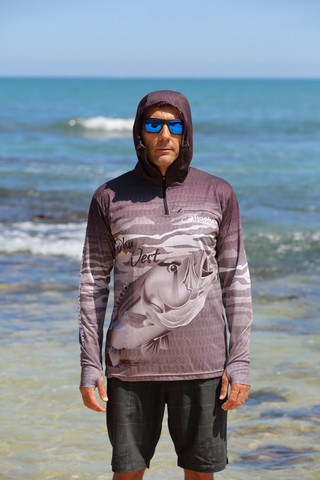 Fish smart in our unique Sun Safe UV Hoodies