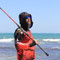 Fish Smart with our Sun Safe Fishing Shirt Hoodies. Barramundi design