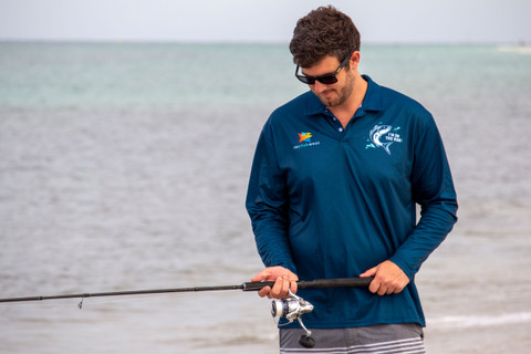 Get 'On the Run' with your Official Recfishwest Salmon Fishing Shirt. Limited edition!
