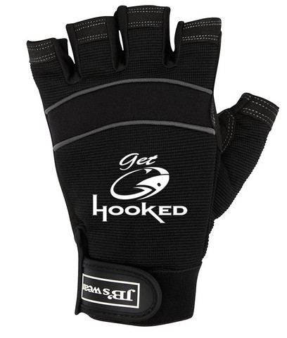 Fingerless Gloves protect your hand when fishing