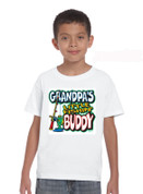Kids 'GrandPa's Little Fishing Buddy'